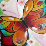7-Butterfly Joy - Acrylic- 900x680mm