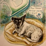 Dexter's Watercolour tribute Feb 2016